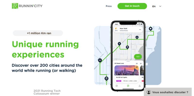 Runnin'City-herramienta-marketing-turistico-app-articulo-investigacion-Pedro-Palos